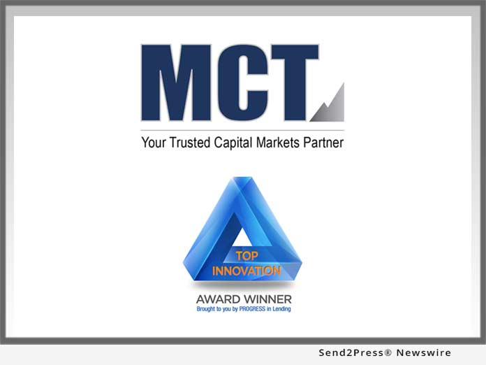 MCT Top Innovator Award
