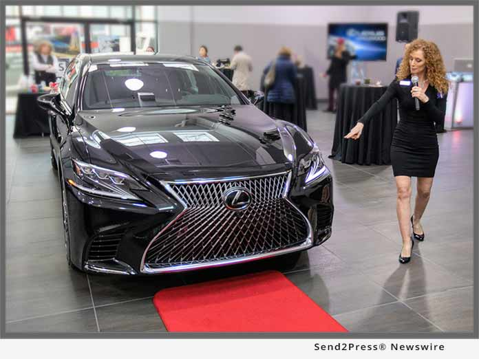 Lexus of Englewood LS 500 with Risa Benson