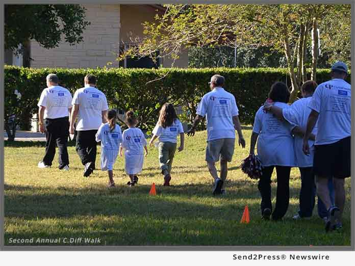 C diff awareness global walks