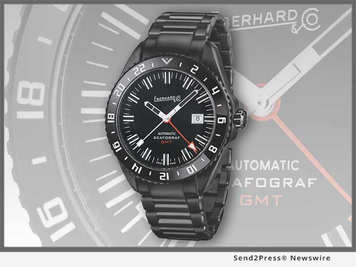 Eberhard Scafograf GMT Black Sheep