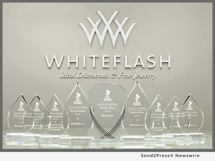 Whiteflash BBB Pinnacle Award 2018