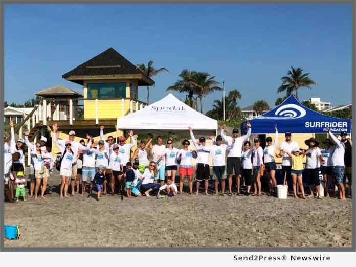 Spodak Dental and Surfrider beach cleanup