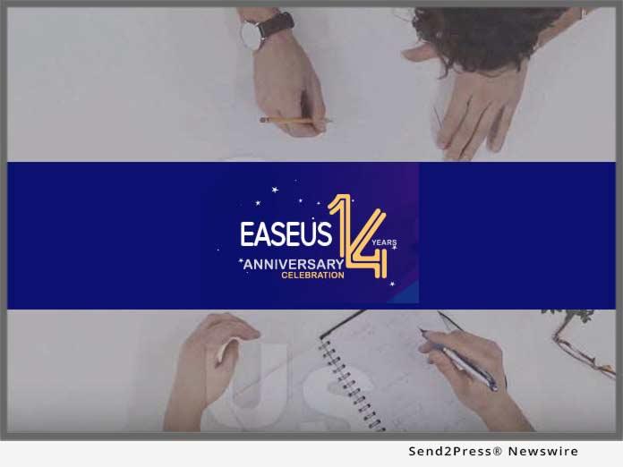 Easeus 14 Years Anniversary