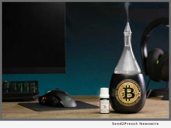 Organic Aromas bitcoin accepted