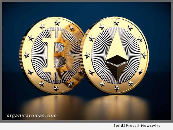 Organic Aromas bitcoins accepted