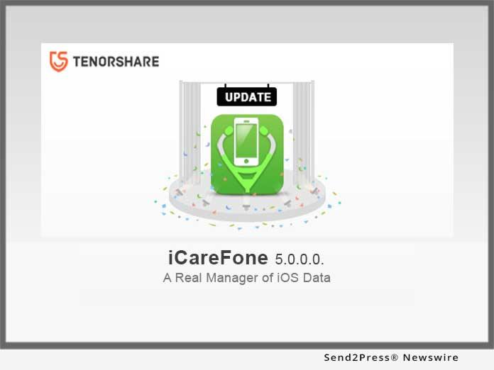 Tenorshare iCareFone Update v5
