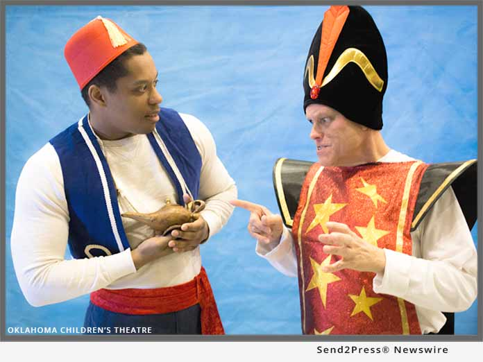 Devon Frost, Mike Waugh in ALADDIN