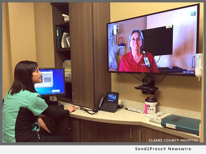 Clarke County Hospital Telematics
