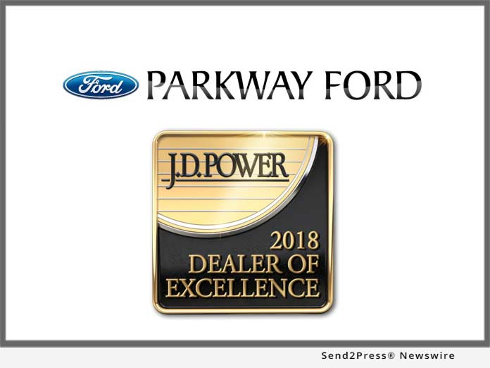 Parkway Ford - JD Power Award