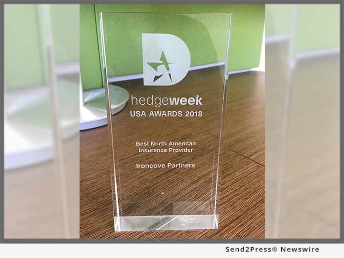 IronCove wins Hedgeweek 2018 award