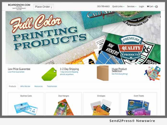 bcardsnow.com - Catch Fire Marketing