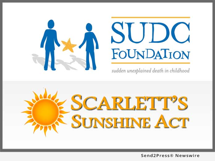 SUDC Foundation and Scarlett's Sunshine Act