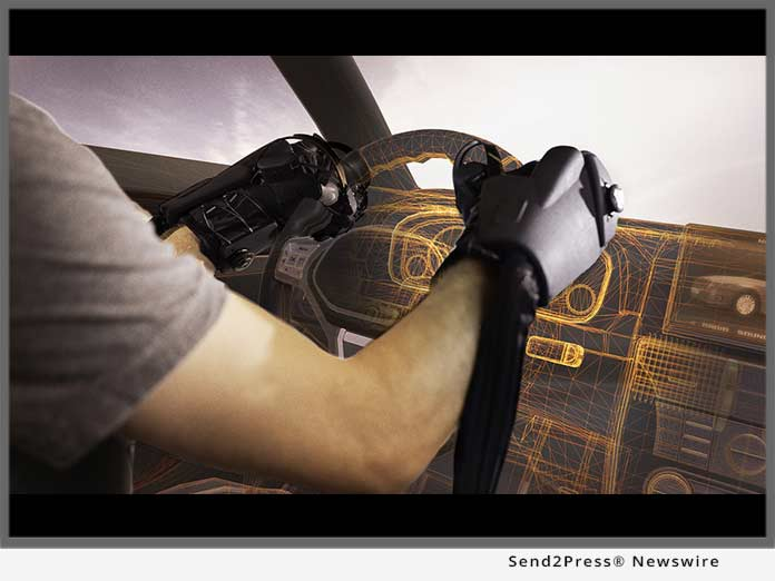HaptX Automotive Gloves for VR