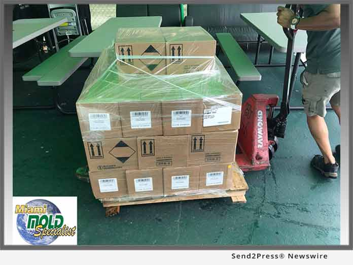 Miami Mold Specialists - Shipment New Products