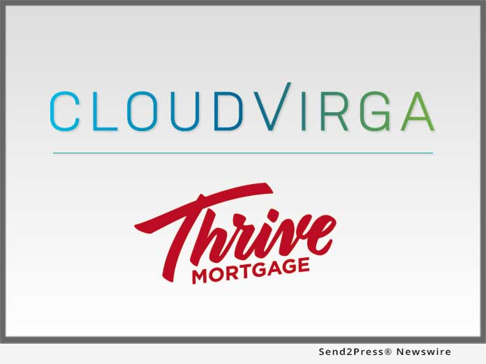 Cloudvirga and Thrive Mortgage