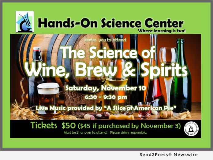 Hands-on Science Center Event Poster