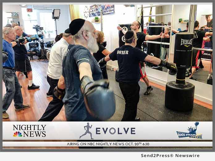 EVOLVE NY hosts Rock Steady Boxing