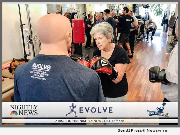 EVOLVE NY on NBC Nightly News