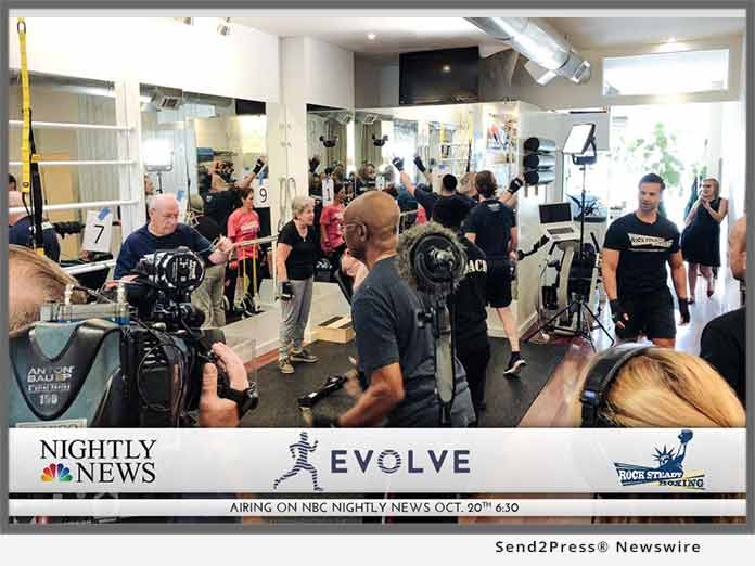 Rock Steady Boxing at EVOLVE NY