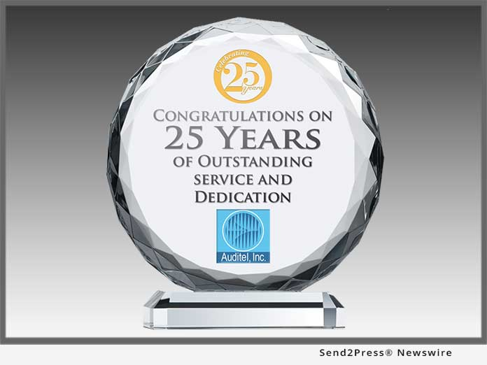 Auditel Inc. 25 Years of Service