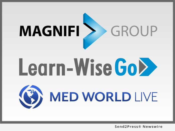 Magnifi Group, Learn-Wise Go, Med World Live