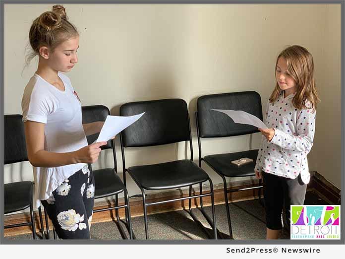 Young actors at Arts Detroit