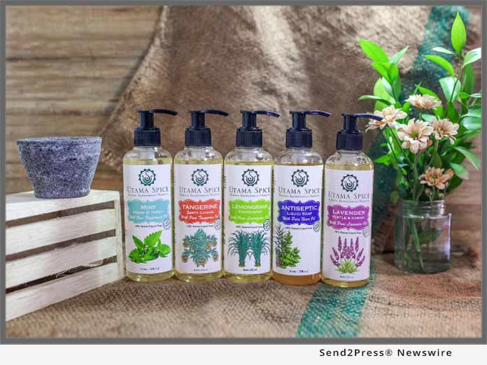 Utama Spice Natural Liquid Soap