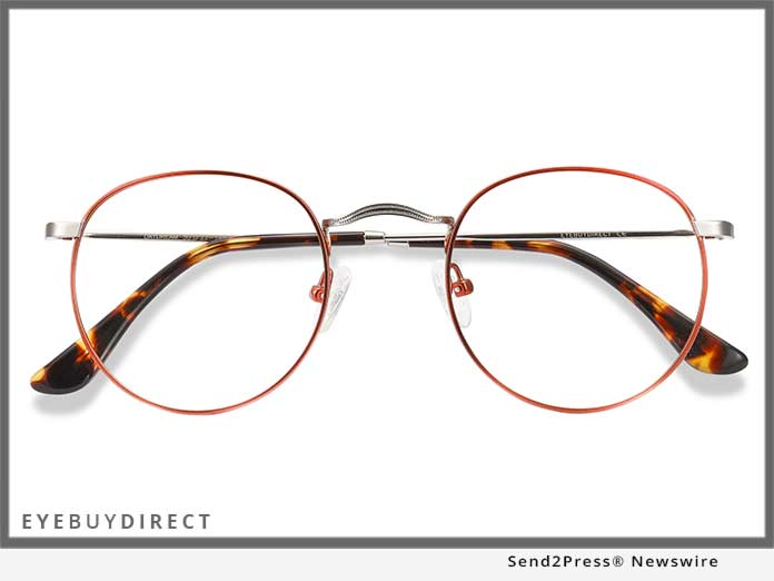 EyeBuyDirect Daydream in Cinnamon Red