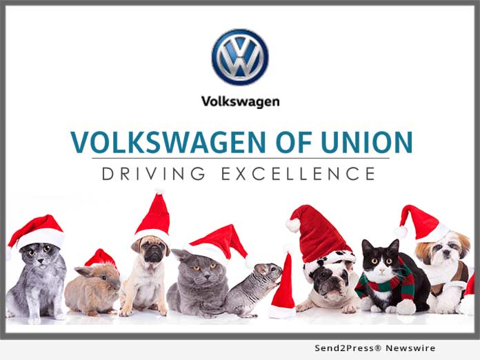 Volkswagen of Union - Santa Paws