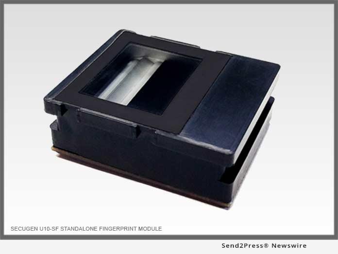 SECUGEN U10-SF Standalone Fingerprint Module