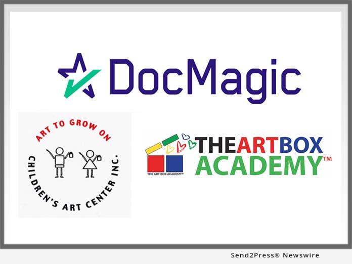 DocMagic and Art To Grow On Children's Art Center