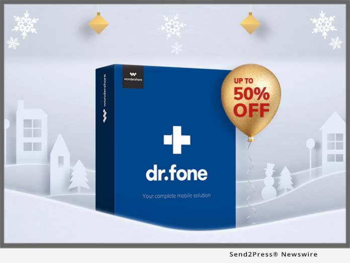 Wondershare dr.fone holidays 2018