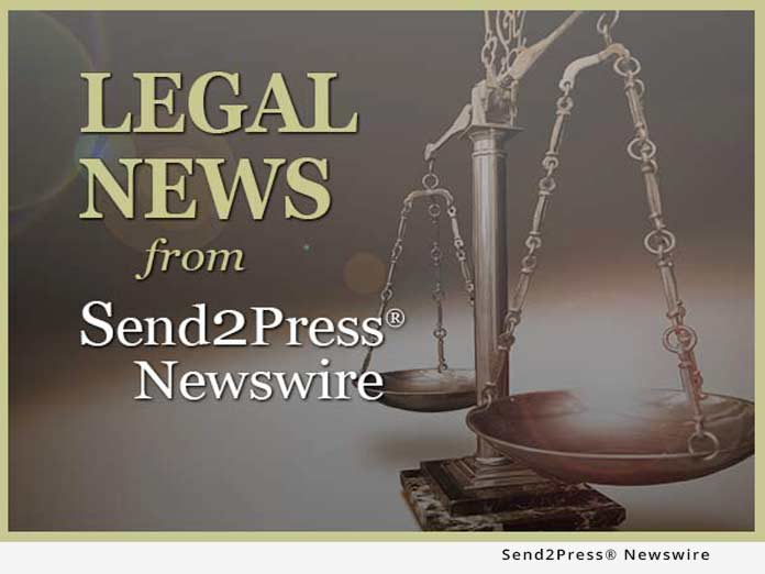 Legal News from Send2Press Newswire