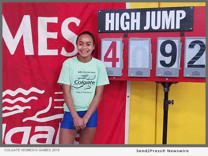 Kiara Davis Breaks High Jump Record
