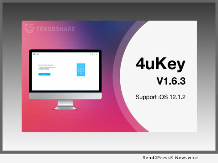 Tenorshare 4uKey 1.6.3 for iOS 12