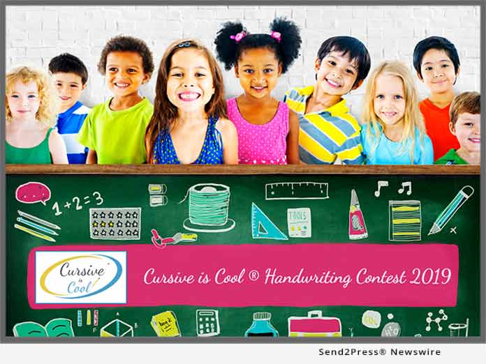 Cursive is Cool Handwriting Contest 2019