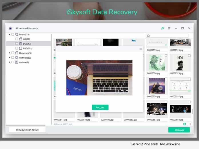 iSkysoft Data Recovery 2019