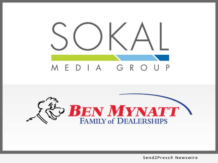 sokal media group signs ben mynatt family of dealerships send2press newswire sokal media group signs ben mynatt