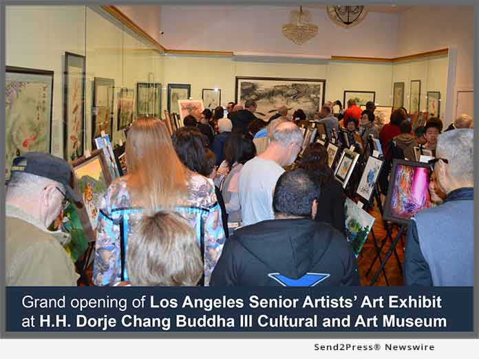 Art Exhibit at H.H. Dorje Chang Buddha III Cultural and Art Museum