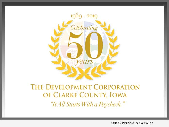 Clarke County Dev Corp Iowa 50 Years