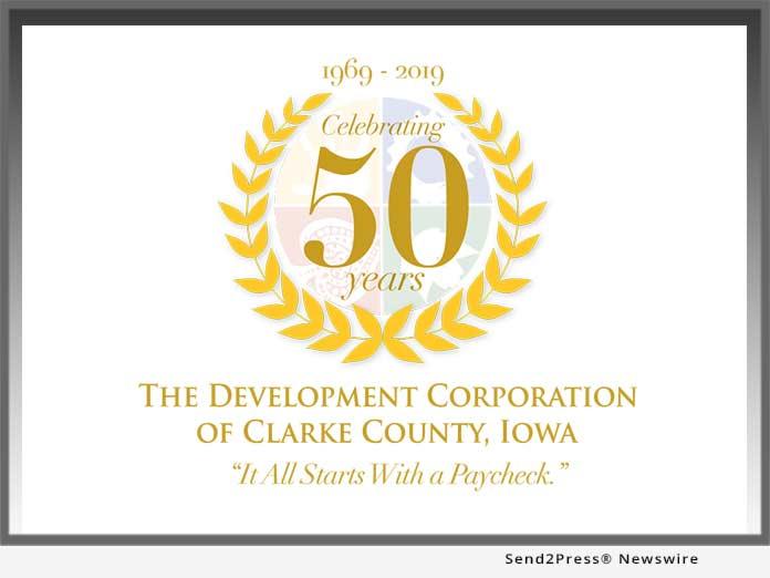 Clarke County Dev Corp Iowa 50 Years