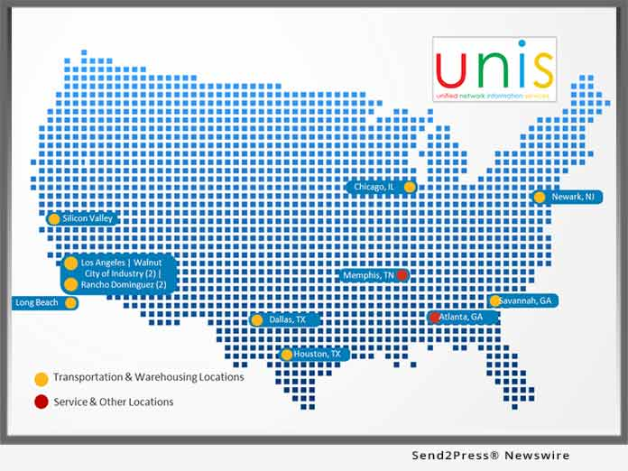 UNIS LLC Map