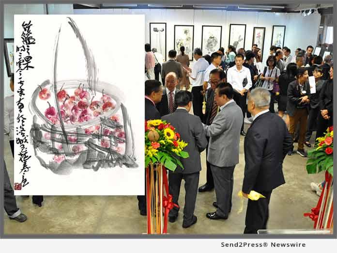 solo exhibition of Dr. Yuhua Shouzhi Wang