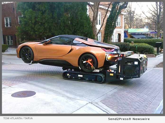 Tow Atlanta - TARVA Robot with BMW i8