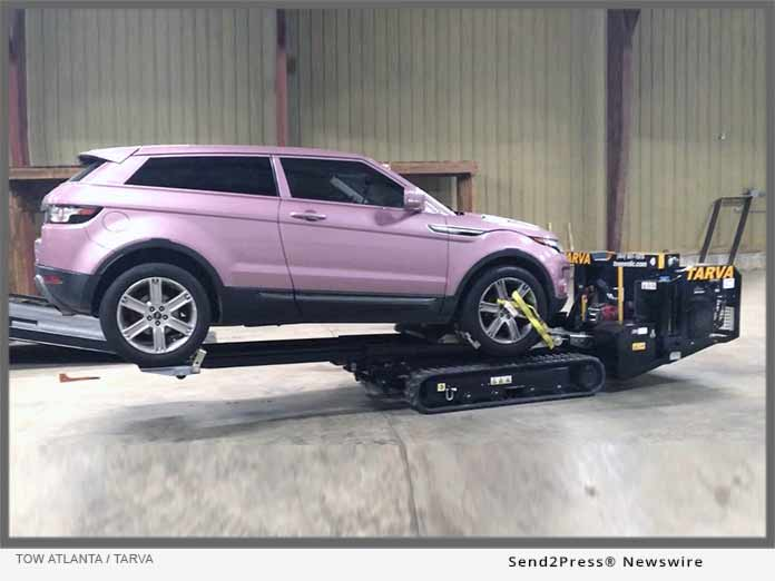Tow Atlanta - TARVA Robot with Range Rover