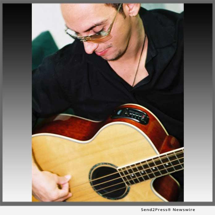 Musician Luciano Mendonca, aka LUCKY