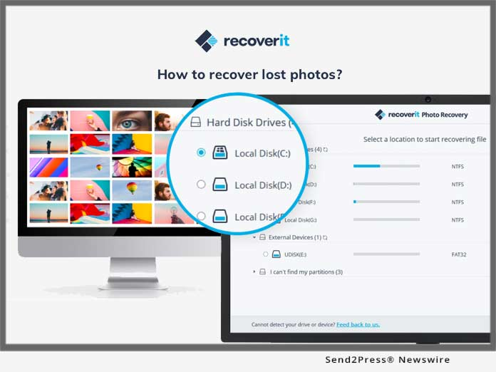 Recoverit - recover lost photos