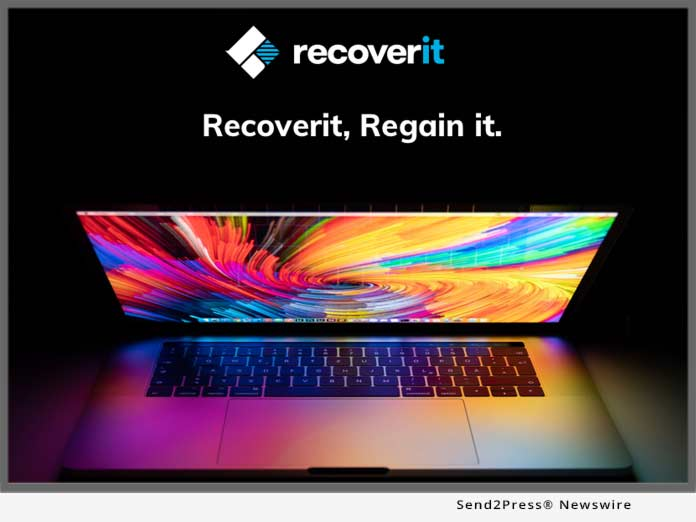 Recoverit Regain it