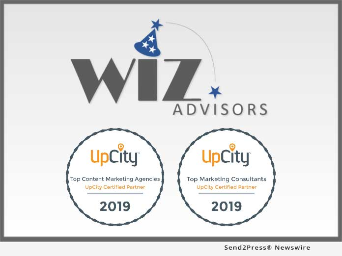 WIZ Advisors = UpCity 2019 Awards