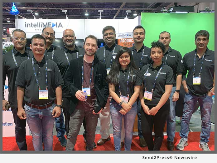 Intellmedia team at NAB 2019